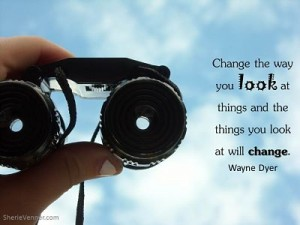 Change the way you look at things and opt 300x225 Inspirational Picture Quotes