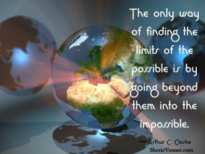 The only way of finding the limits of opt 300x225 Inspirational Picture Quotes