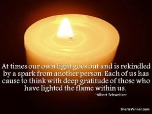 gratitudeflame opt 300x225 Inspirational Picture Quotes