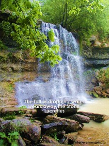waterfall 225x300 Inspirational Picture Quotes