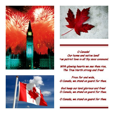 Canada Day collage3rsz Happy 145th Birthday, Canada!