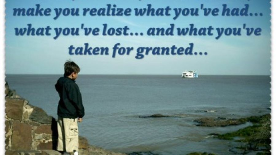 taken for granted