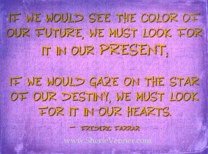 if we could see the color of our future