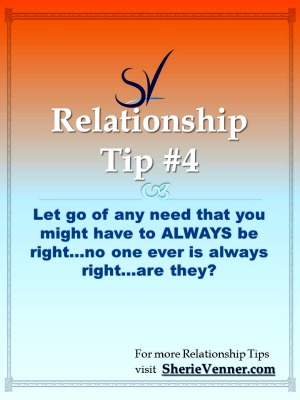 Relationship tips 4 letting go of the need to be right