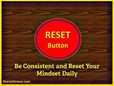 Reset Button Reset Mindset Daily