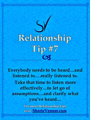 The importance of listening in relationships