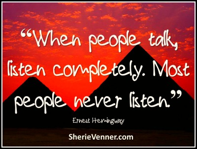 When people talk listen completely